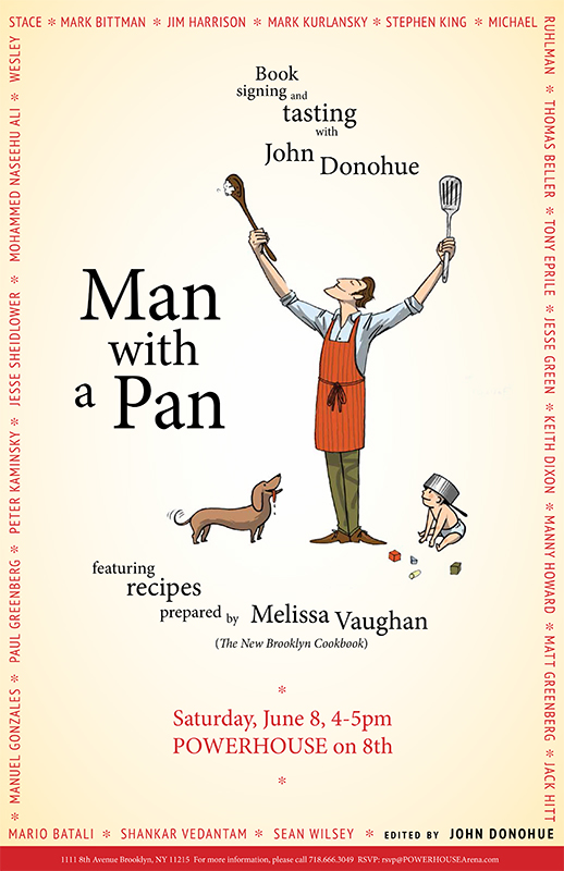 Book Signing & Tasting: Man with a Pan by John Donohue