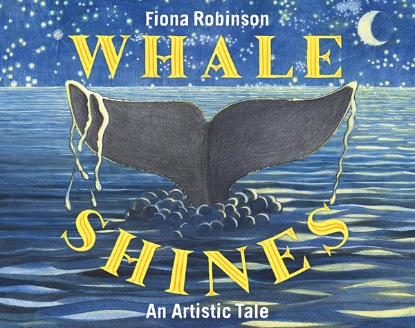 Story Time with Fiona Robinson (author of Whale Shines)
