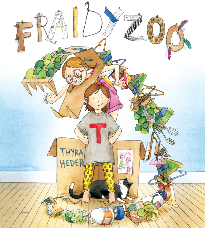 Story Time with Thyra Heder (author of Fraidyzoo)