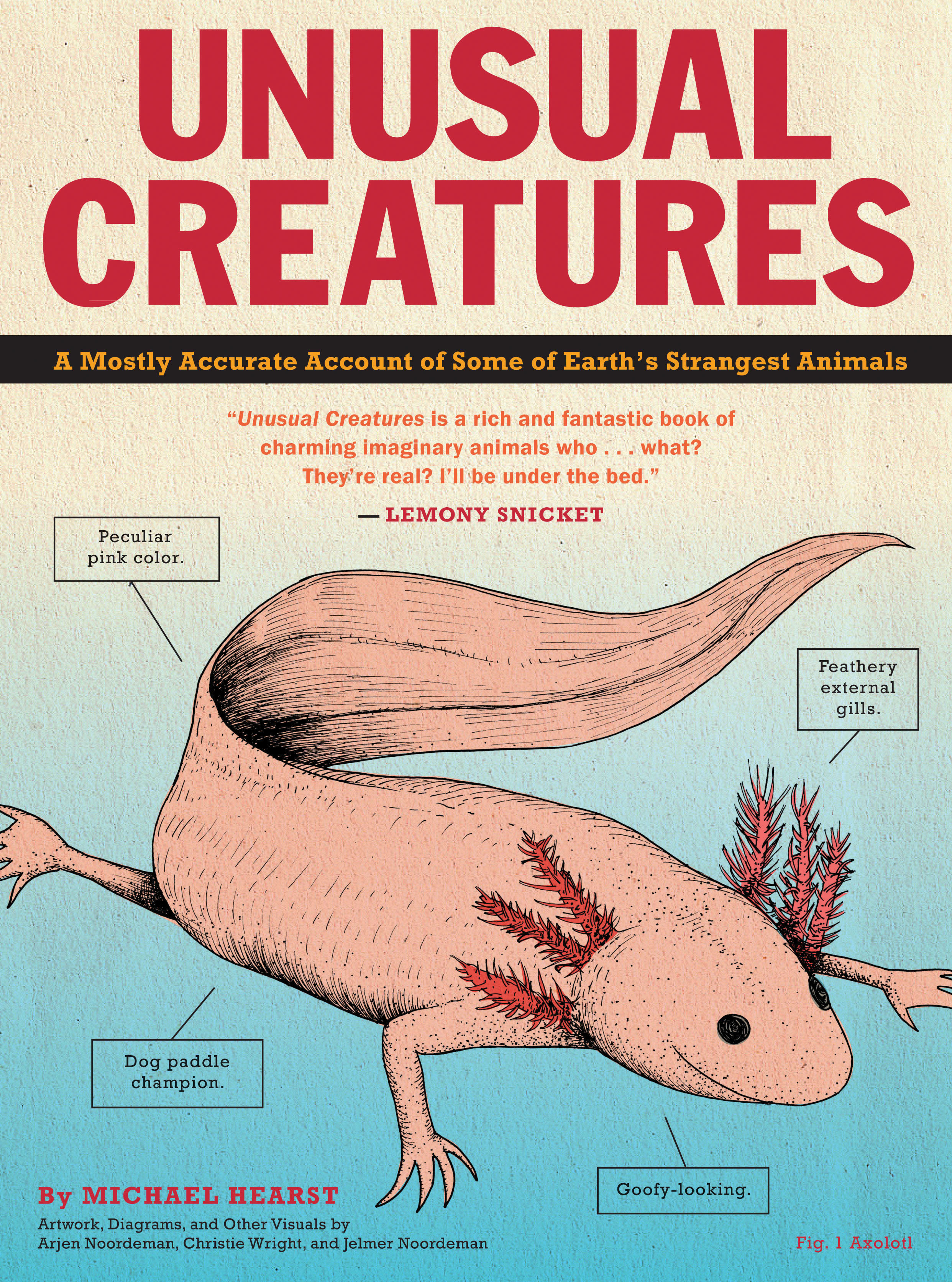 Kids Reading: Unusual Creatures by Michael Hearst