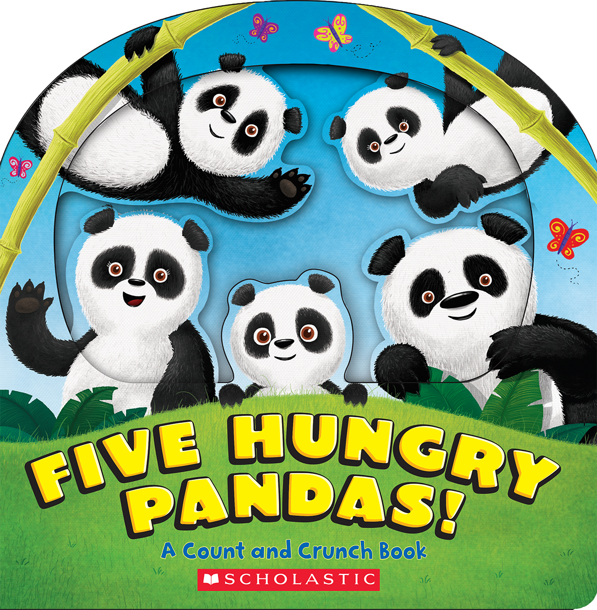 Sunday Story Time: Five Hungry Pandas! by Alexis Barad-Cutler