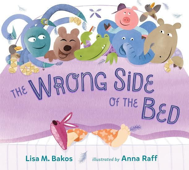 Sunday Story Time with Anna Raff (illustrator of The Wrong Side of the Bed)