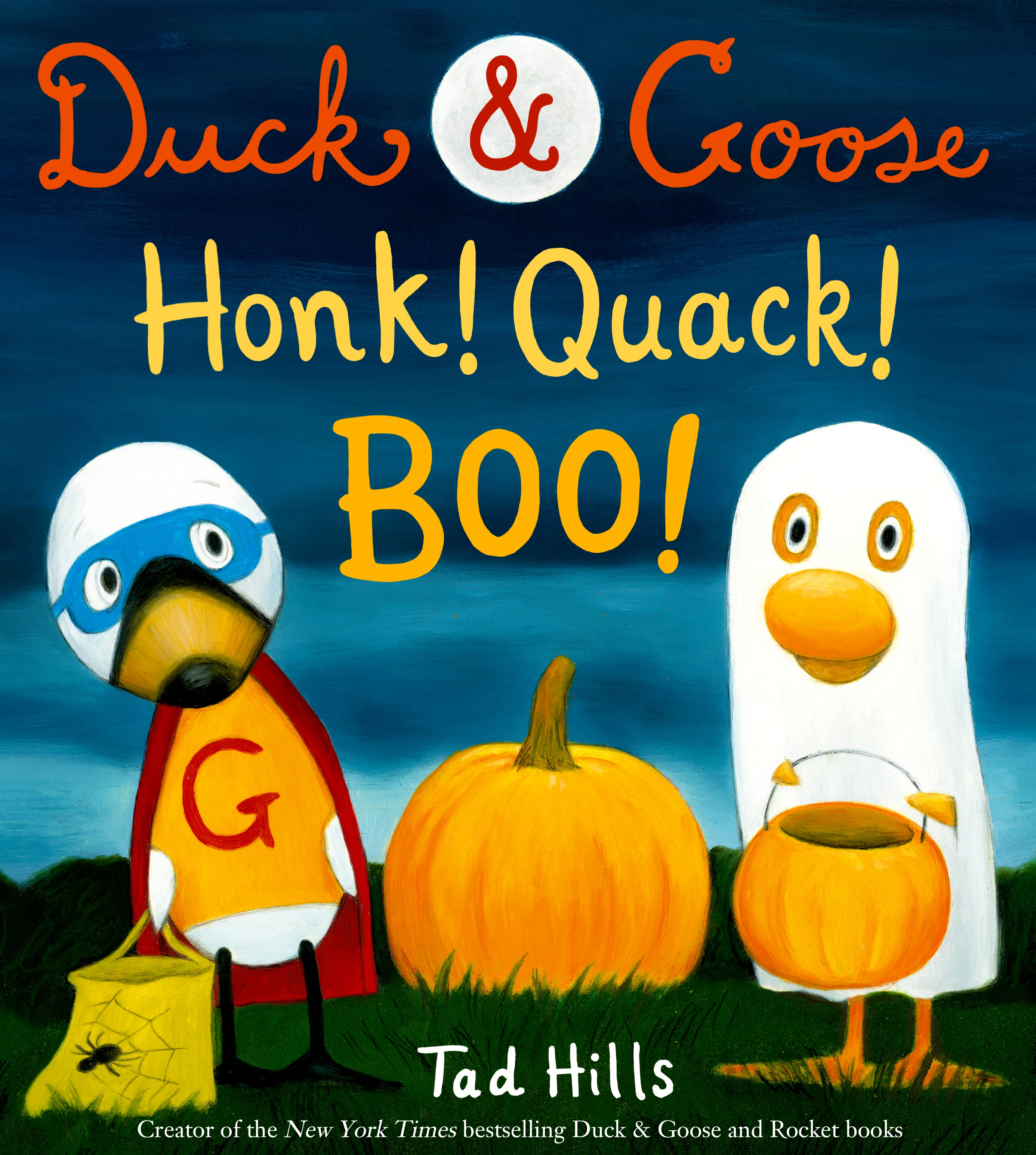 Sunday Halloween Story Time with Tad Hills (Author & Illustrator of Duck & Goose: HONK! QUACK! BOO!)