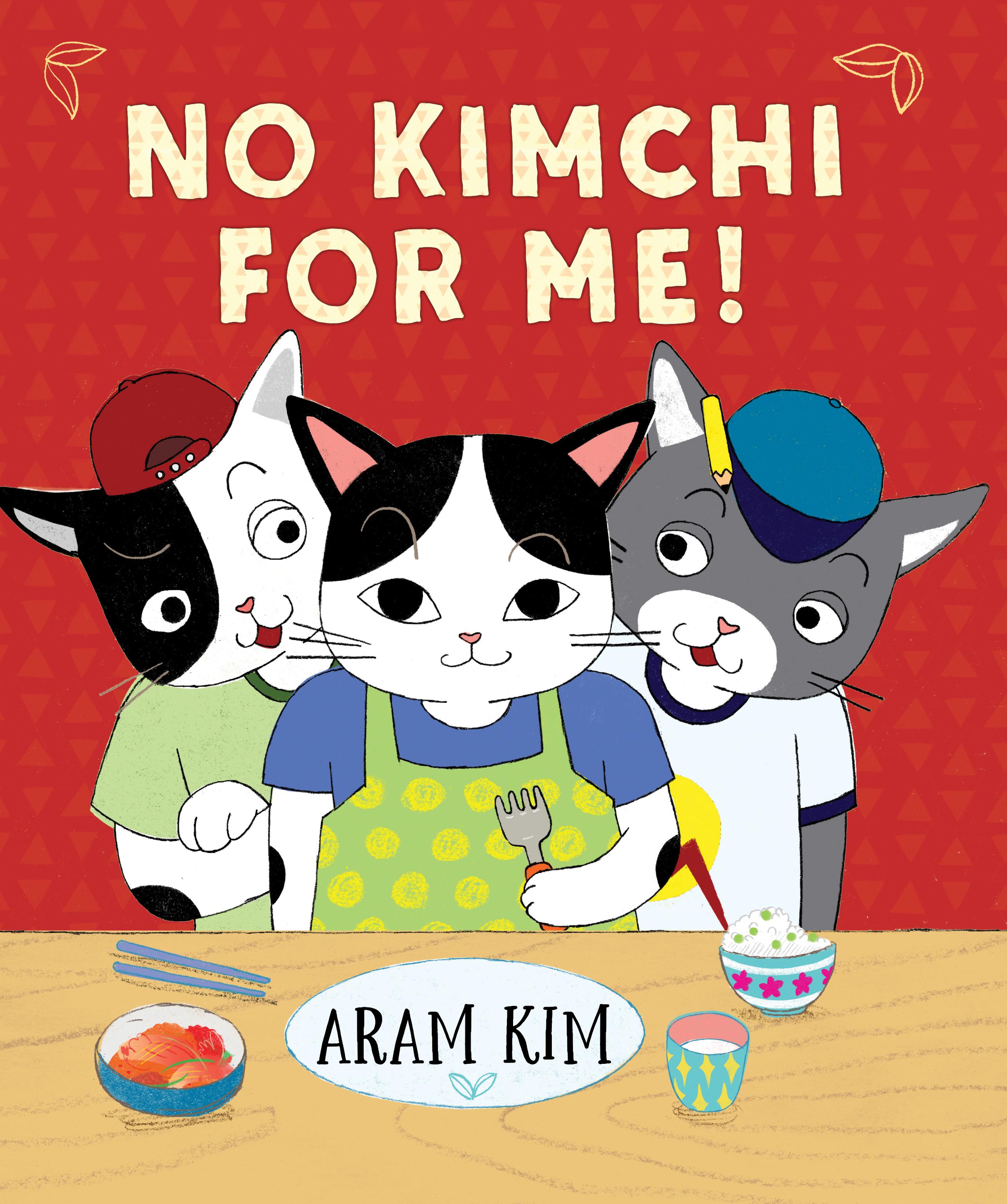 Sunday Story Time with Aram Kim (Author & Illustrator of No Kimchi for Me!)