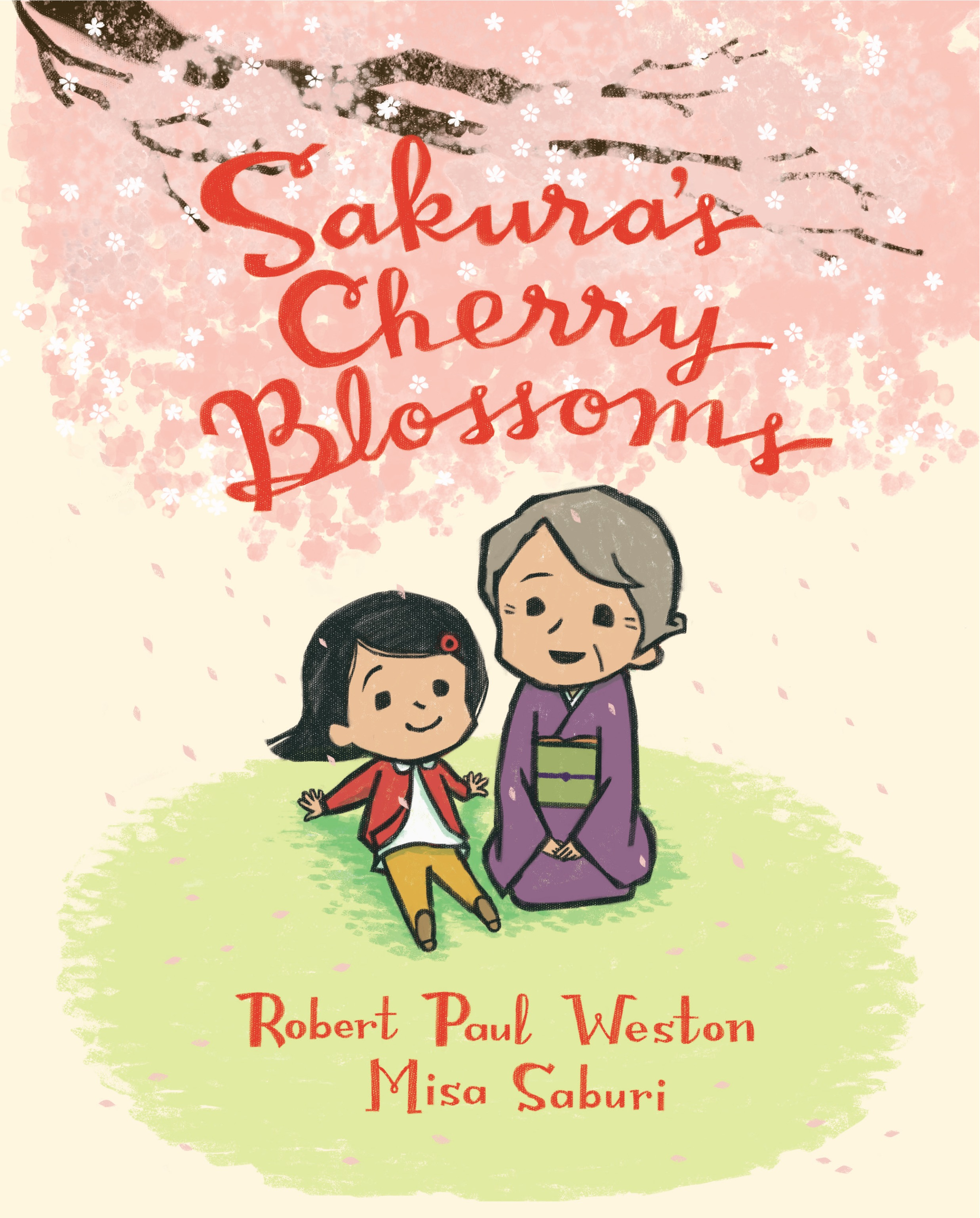 Sunday Story Time with Misa Saburi (Illustrator of Sakura's Cherry Blossoms)