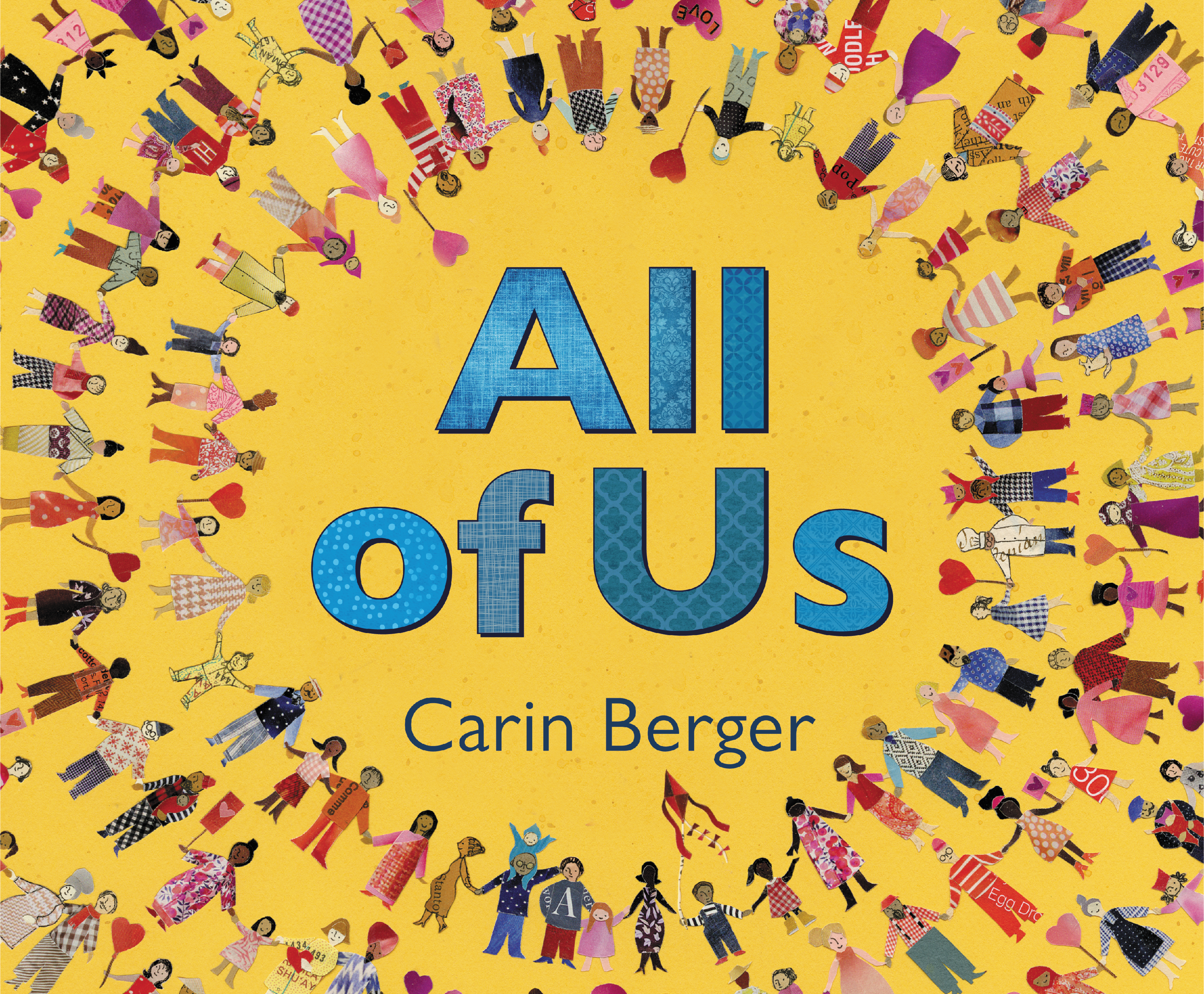 Sunday Story Time with Carin Berger (Author & Illustrator of All of Us)