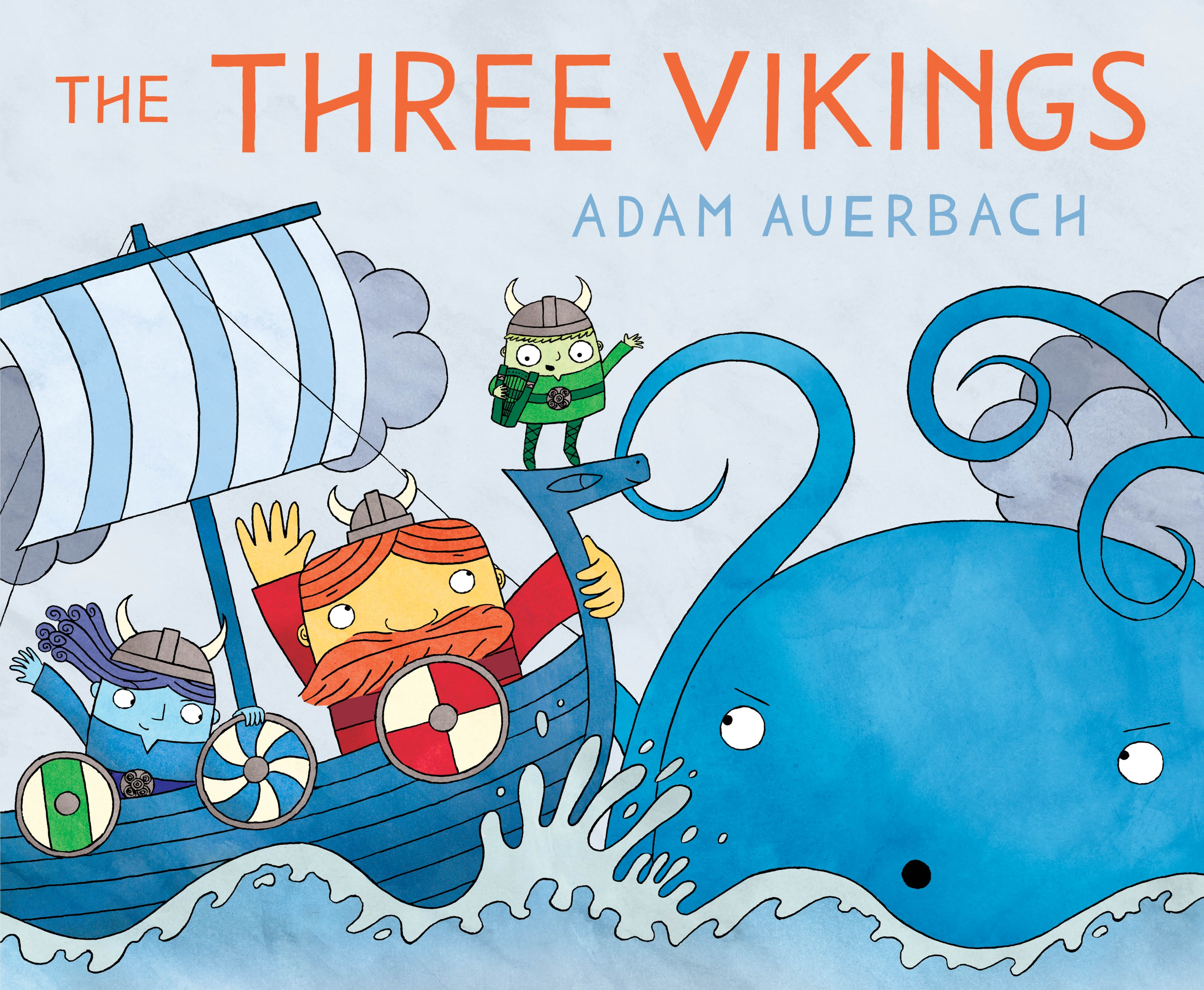 Sunday Story Time: Three Vikings by Adam Auerbach