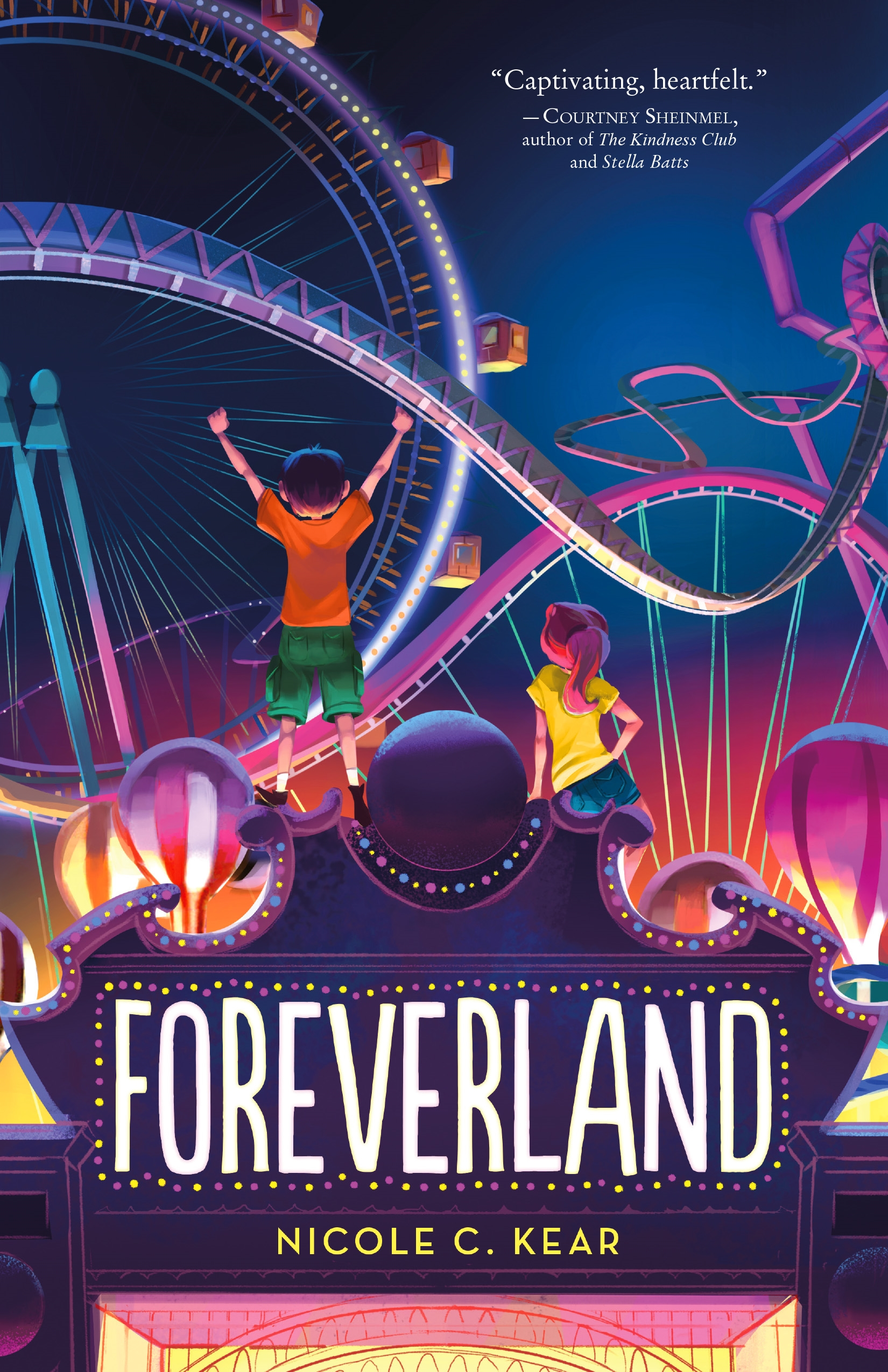 Virtual Middle Grade Book Launch: Foreverland by Nicole C. Kear