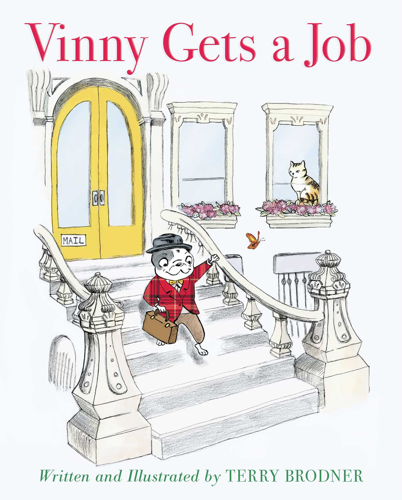 Virtual Sunday Story Time: Vinny Gets a Job by Terry Brodner